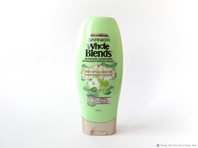 Garnier Whole Blends Green Apple and Green Tea Refreshing Conditioner Review