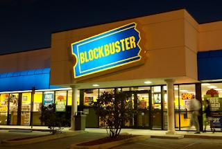 Blockbuster tienda de alquiler de videos
