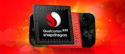 Prosesor Snapdragon 835 dan RAM 8 GB