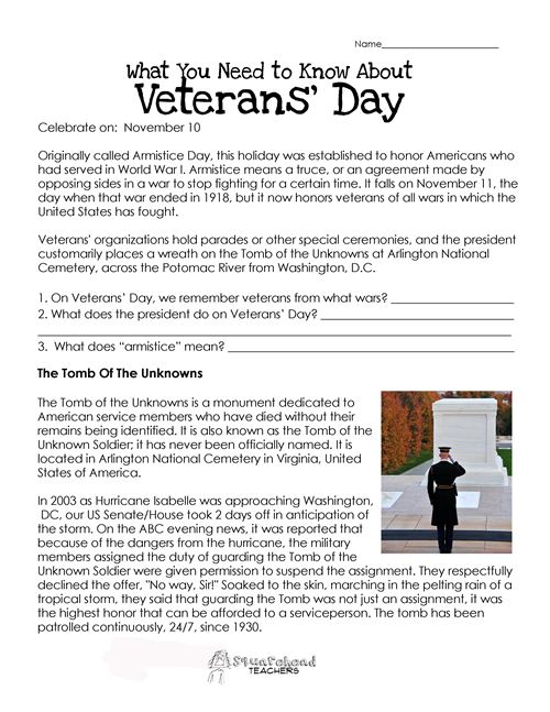 Meaningful Veterans Day Quotes For Kids