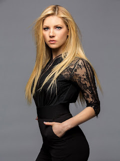 Katheryn Winnick HD Images in Black Dress