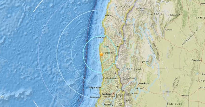 TERREMOTO EN CHILE de 6.2 Grados (Hoy Domingo 14 Mayo 2018) Sismo Temblor EPICENTRO Coquimbo - La Serena - Atacama - ONEMI - www.onemi.cl