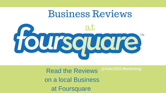 Business reviews at Foursquare-560x315