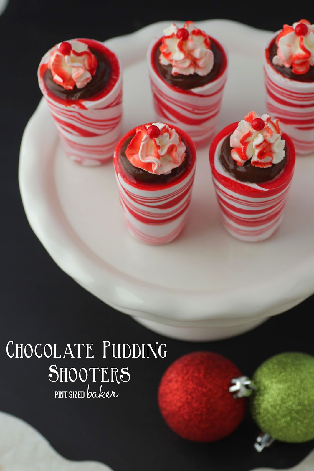 kitchen fruit basket and bath showroom chocolate pudding shooters - pint sized baker