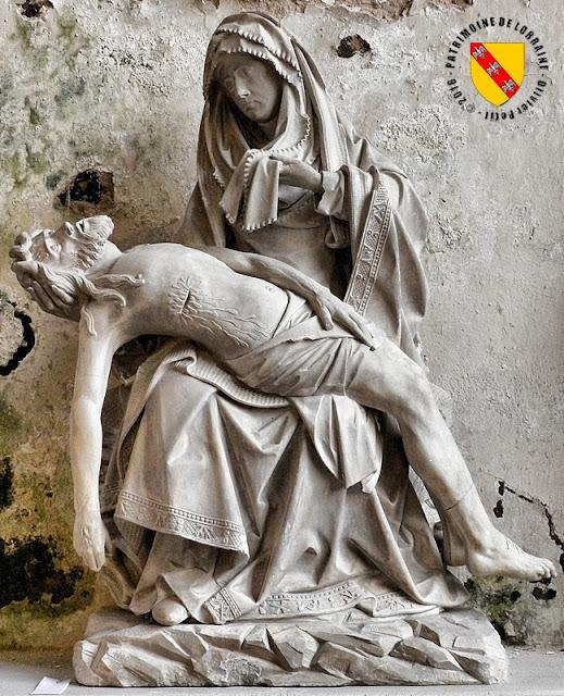 PONT-SAINT-VINCENT (54) - Pietà de Jean Crocq (1496-1498)