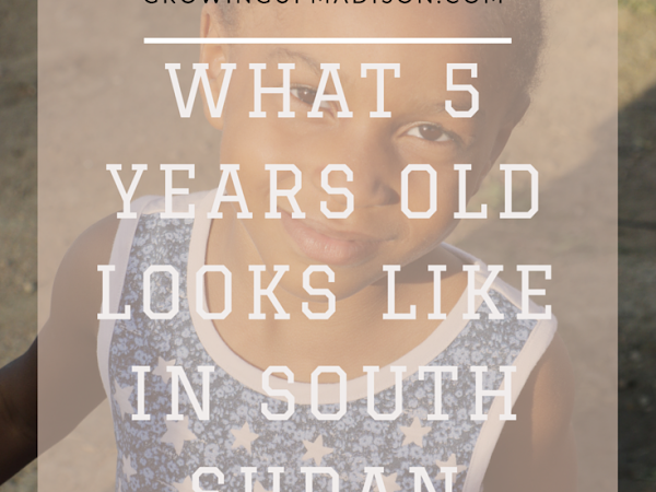 What 5 Years Old Looks Like in South Sudan - #SouthSudan