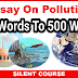 Environmental Pollution Essay