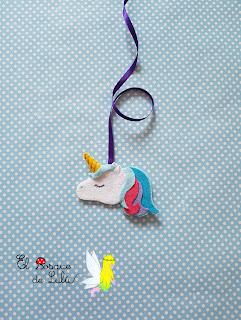marcapáginas-agenda-escolar-marcador-unicornio-unicorm-elbosquedelulu-hechoamanoparati-fieltro-felt-feltro