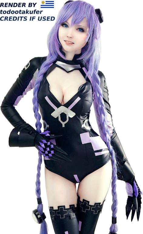 Purple Heart Cosplay