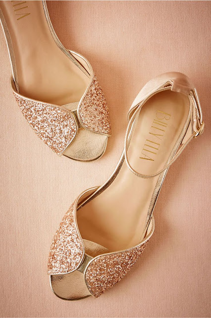 Sparkly Flats For Wedding