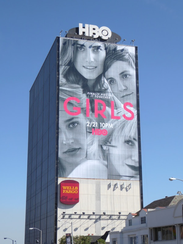 Giant Girls season 5 billboard