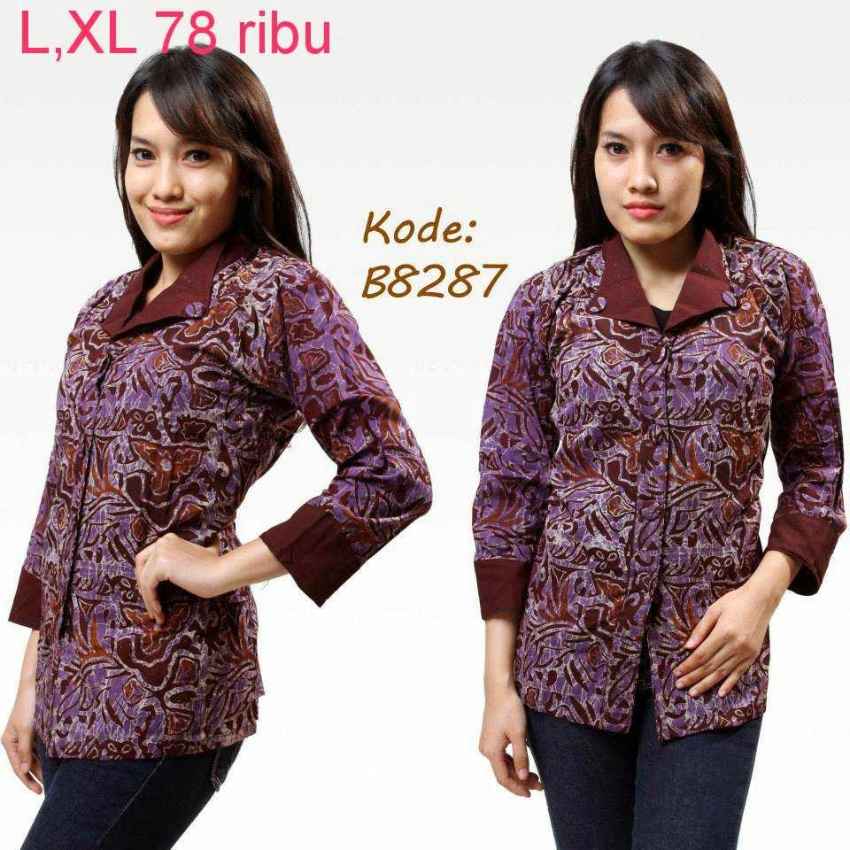 Download Baju Batik Wanita: Macam-Macam Model Baju Batik Wanita
