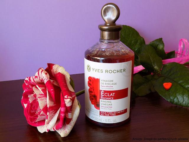 Płukanka malinowa, Yves Rocher