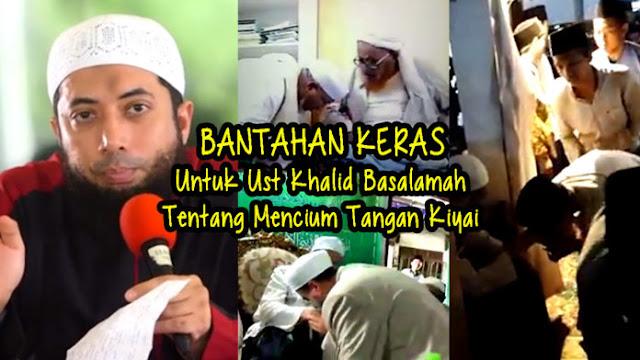 Santri ini Meluruskan Ustad Salafi Khalid Basalamah yang Tidak Memahami Dalil Tabarruk