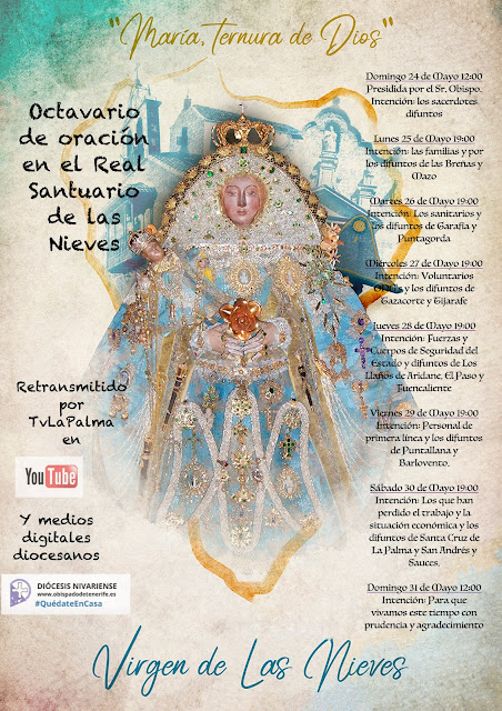 Octavario de oración en el santuario de la Virgen de Las Nieves