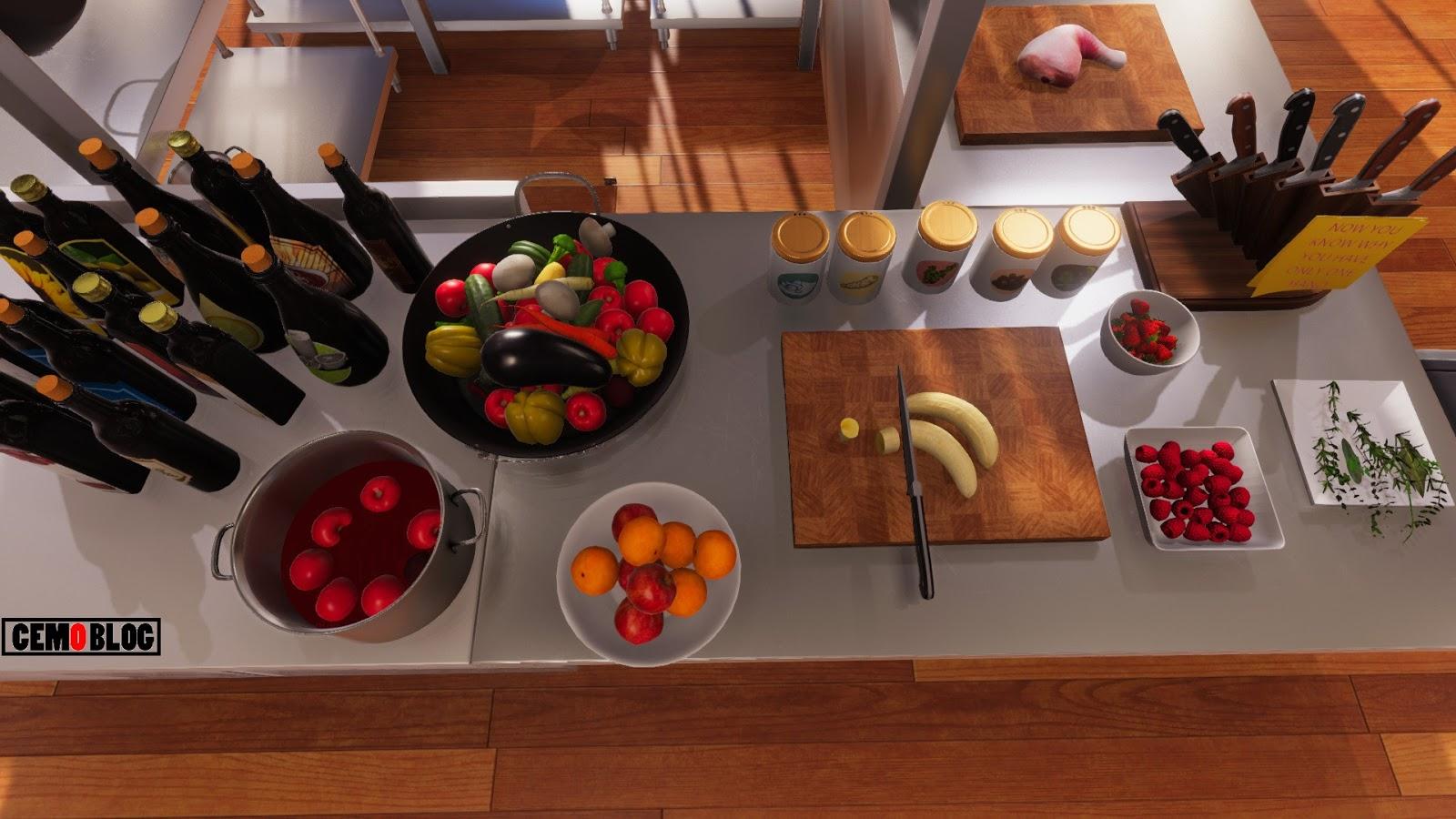 Cooking Simulator Türkçe Full İndir