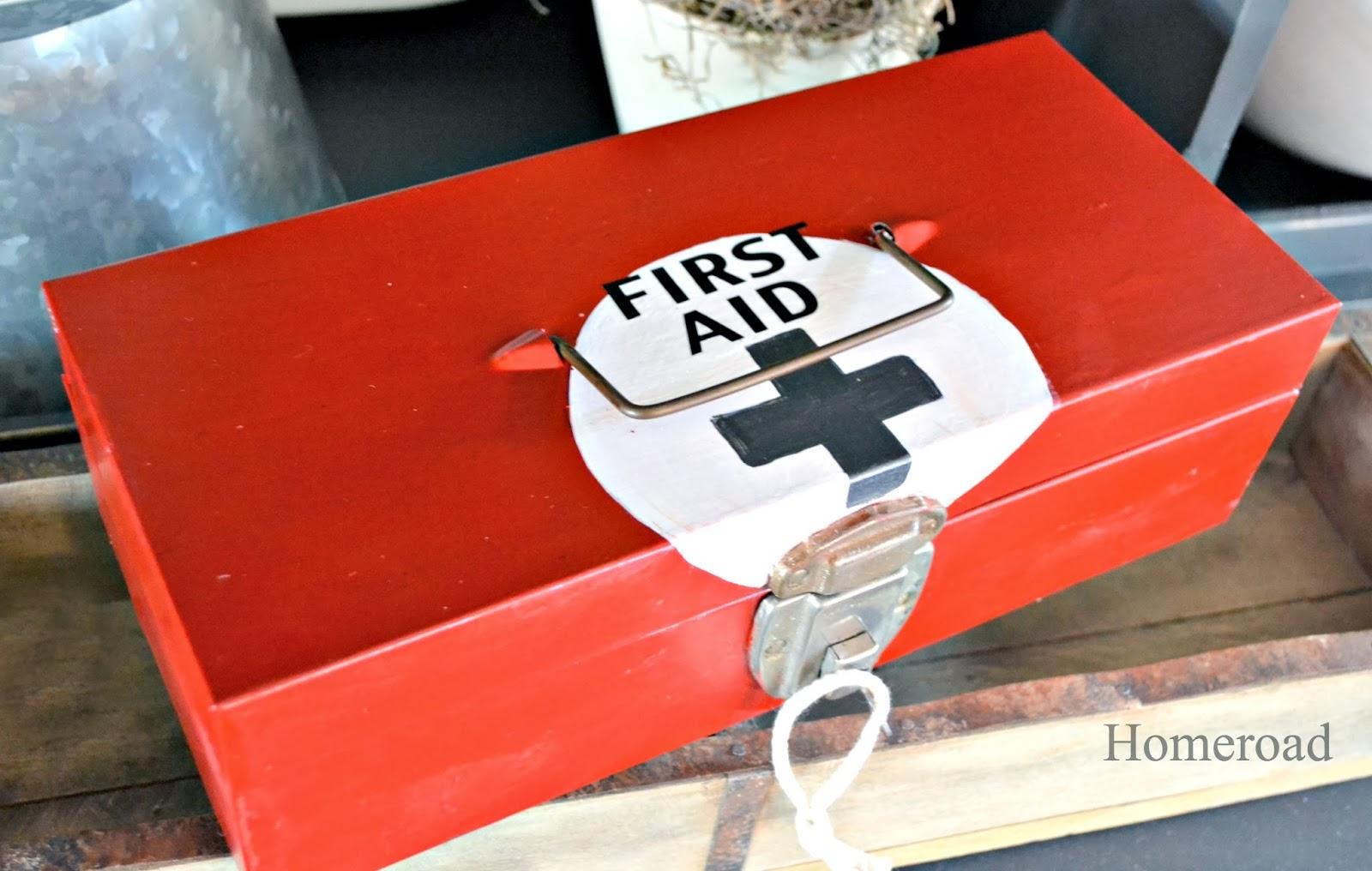 metal first aid box www.homeroad.net