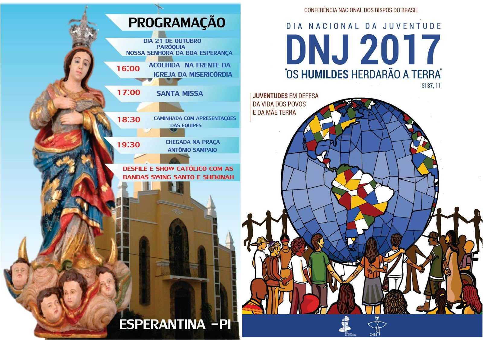 Pastoral da Juventude divulga programação do DNJ 2017