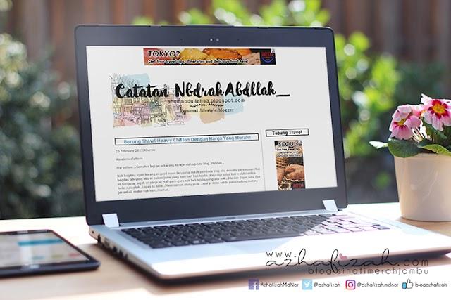 Design Header Blog Anum Abdullah