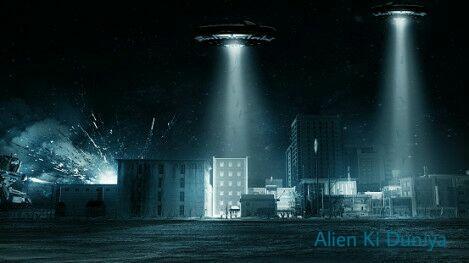 लड़ाकू बेड़ा और उड़न-तश्तरी : Flying UFO Real Story