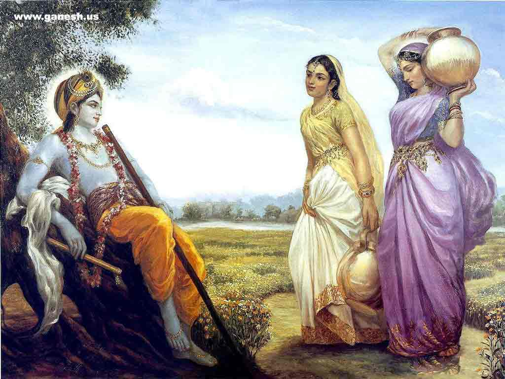 Lord Sri Krishna Paintings ~ All about India