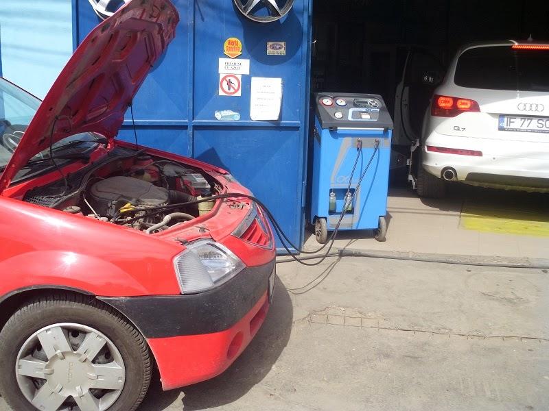 incarcare freon auto si reglaj faruri dacia logan