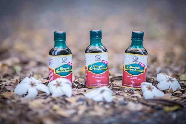 Image result for gambar minyak herba asma