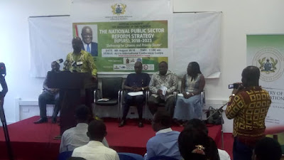 NATIONAL PUBLIC SECTOR REFORM STRATEGY (NPSRS) IS LAUNCHED