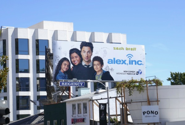 Alex Inc season 1 billboard