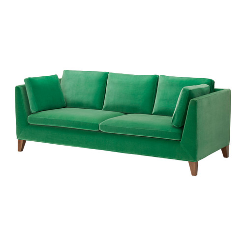 By Ozana: Inspired By Colour- Ikea's Green Sofa