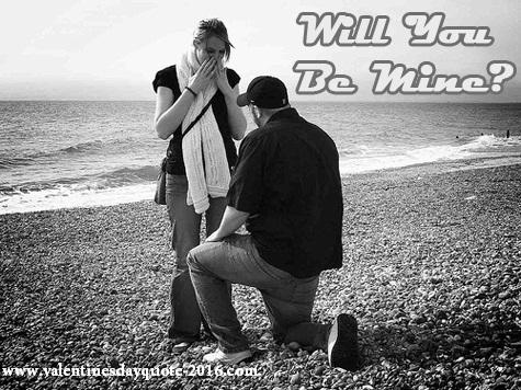 Boy propose to girl black image