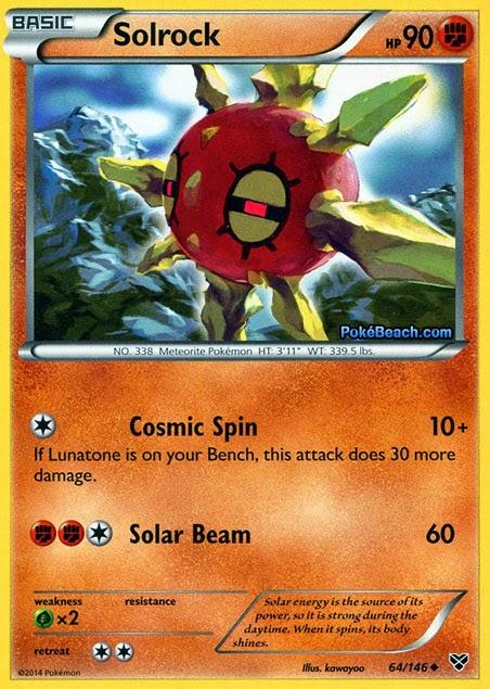Solrock -- Pokemon X and Y Card Review   PrimetimePokemon ...