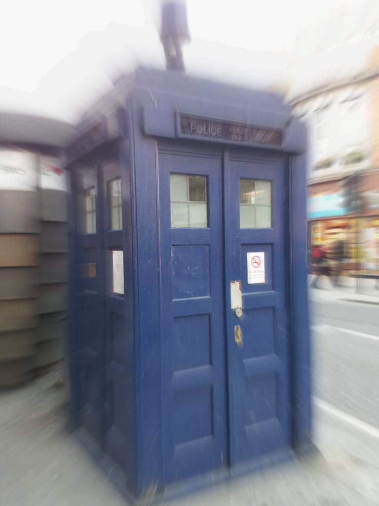 A Genuine Tardis London Living Adventures Of A London Kiwi
