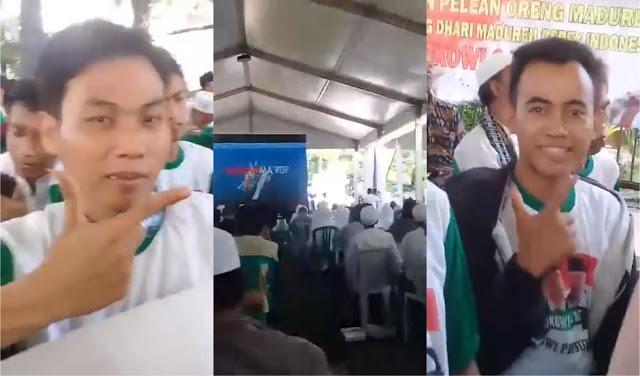 Diajak Nyanyi Jokowi Polè (Jokowi Lagi), Santri Madura Jawab Jokowi Molè (Pulanglah Jokowi)