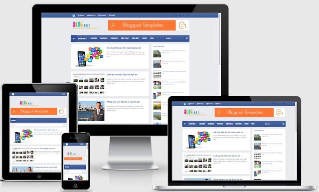 Template blogspot free responsive chuẩn seo