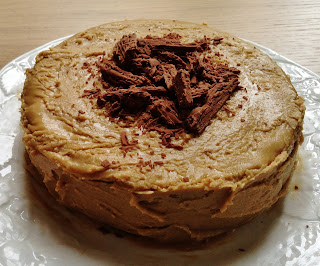 Chocolate Cake with Caramel & Marmite Buttercream