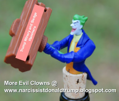 donald trump winery charlottesville evil clown batmant joker funny meme