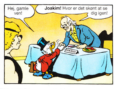 Scrooge is meeting Don Rosa