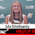 Julia Schatkowsky is the MCAC's Female Athlete of the Week (Week 12)