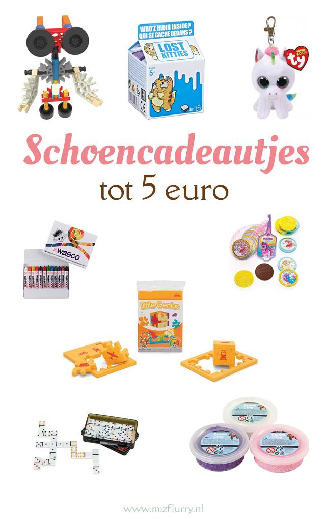 schoen cadeautjes tot 5 euro