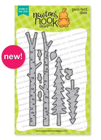 Forest Scene Builder Die Set by Newton's Nook Designs #newtonsnook