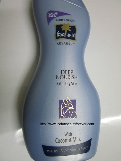 Parachute Advansed body lotion