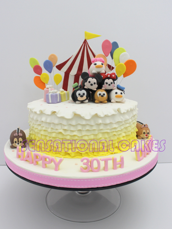 The Sensational Cakes Tsum Tsum 3d Cake Singapore