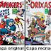 Quadrinista Hugo Canuto recria capas de HQs da Marvel com Orixás do candoblé