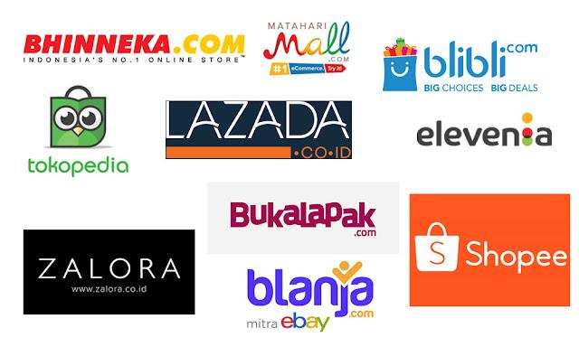 10 Situs Toko Online Terbaik Dan Terpercaya Yang Populer Di ... 3b9798603f