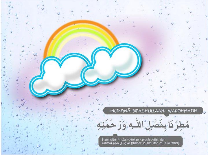the Daughter's note: Doa ketika hujan turun