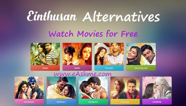 Einthusan 2021: best Alternatives to Enthusan TV: eAskme