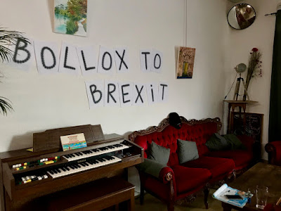 French Village Diaries bollox to Brexit soirée