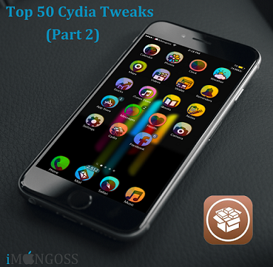 iOS devices are nothing without Jailbreak & Jailbreak are nothing without Cydia Tweaks. I think you agree with this. There are number of cydia tweaks available in cydia which adds many functions to your devices.