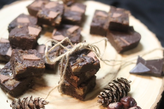 Chocolate and Chestnut Brownie Recipe